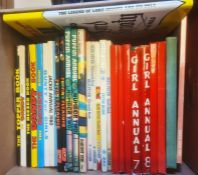 Childrens booksincluding Girls Annuals 7 & 8, Swift Annuals Nos. 5 & 6, Puffin Annuals, Dandy book,