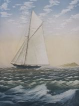 """John McNulty Limited edition print """"Fresh Breeze"""", signed in the margin in pencil and no.173/350,"""
