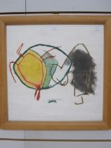 Alison Murray (20th century) Artist's proof Abstract scene, signed in pencil lower right and