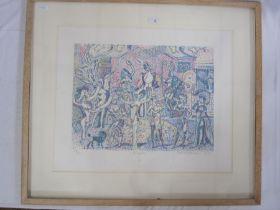 "Eduardo Paolozzi RA (Scottish) (1924-2005) Limited edition print ""Ziegfeld"", no.18/20, signed in"