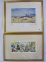 """Michael Long Limited edition print """"Weston Super Mare"""", no.165/650, signed in pencil to the margin,"""