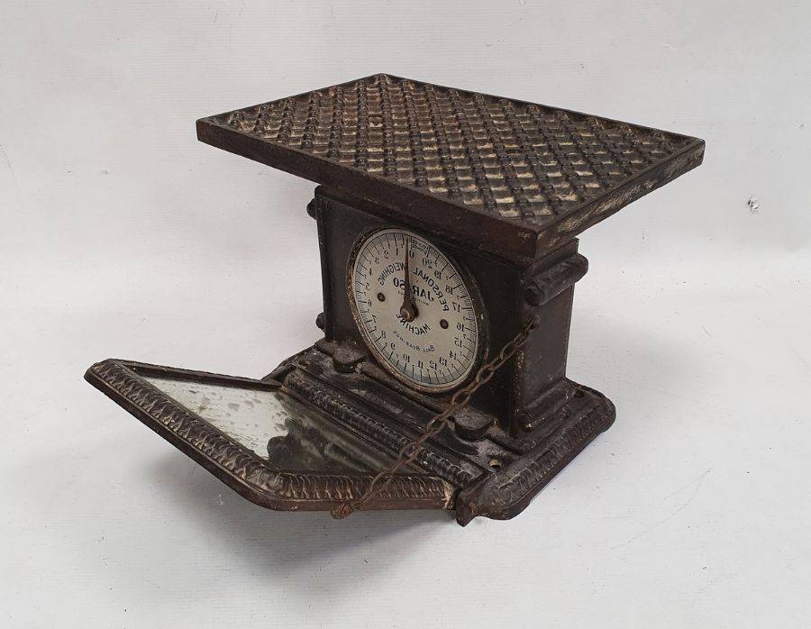 Cast iron, Jarosa, personal weighing scales