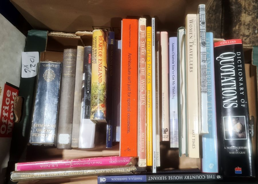 Assorted volumes to include topography, art, architecture, etc (6 boxes) - Image 5 of 8