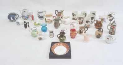 Quantity of small jugs and other ornaments