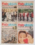 14 editions of 'Fabulous', a colour magazine about pop stars, dating from between May 1964 and