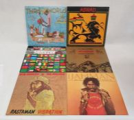 Collection of approximately 50 mainly Reggae vinyl LP's including Bob Marley and the Wailers,