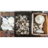 Large quantity of crested ware, mainly Cheltenham interest (3 boxes)