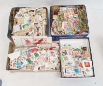 Large quantity of loose stamps