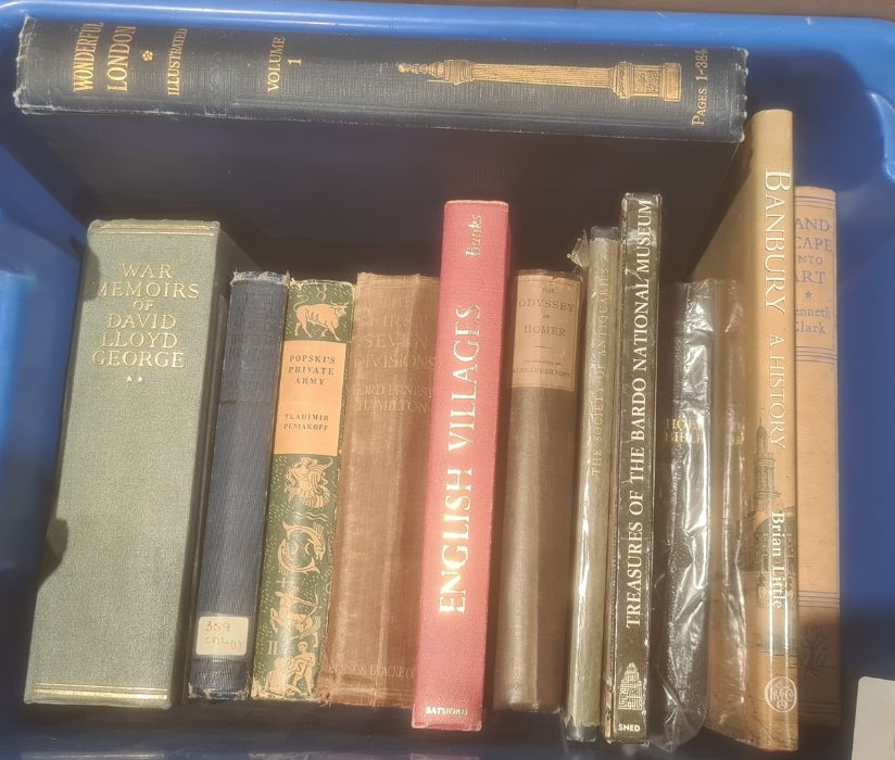 Assorted volumes to include topography, art, architecture, etc (6 boxes) - Image 2 of 8