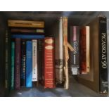 Art, history and other subjects, various booksin two boxes
