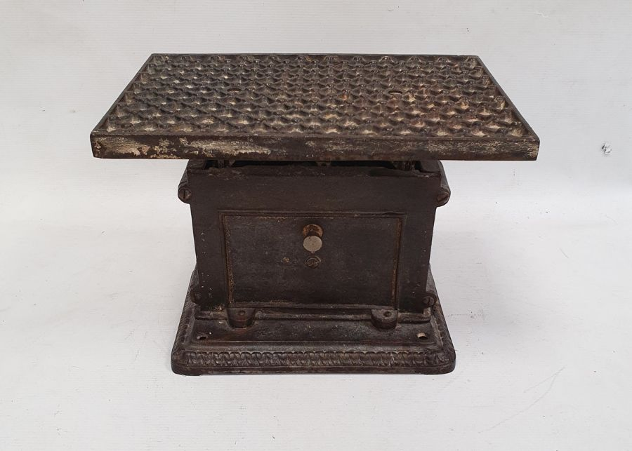 Cast iron, Jarosa, personal weighing scales - Image 3 of 3