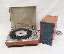 Bang & Olufsen Beogram 1000 with a single speaker and a quantity of LPs Condition ReportUnable to