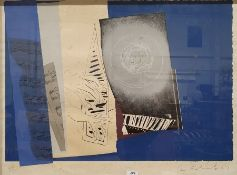 Ceri Richards (Welsh 1903-1971) Limited edition lithograph 'Claire de Lune' , signed in pencil to