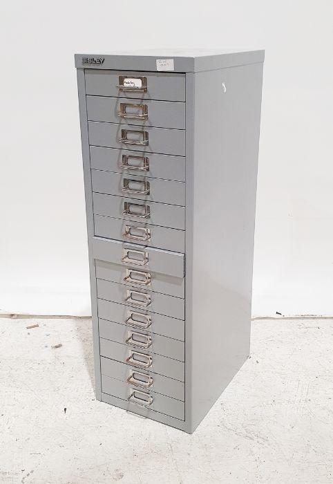 Bisley metal filing drawers