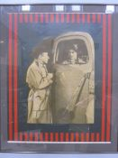 """Ellen Kuhn (b.1937) Two limited edition prints """"Gangster Film"""" and """"George Raft and Edward G"""