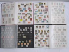Seven large full stockbooks of Commonwealth Empire stamp, Victoria to Queen Elizabeth II, mostly