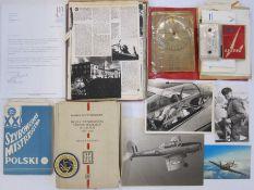 Collection of photographs and ephemerarelating to Flight Lieutenant Lew Kurylowicz, D.F.C. Royal