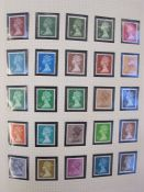 Album of Queen Elizabeth II mounted mint from 1967 to 1977 including face values and other