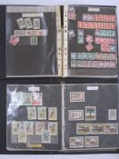Bag of 15 albums/stockbooksincluding printed Windsor album and a few stamps in most items (1 box)