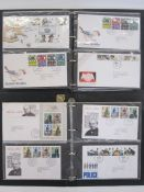 Miscellaneous philatelic material, much in albums, a few hundred first day covers, at least 200 face