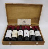One presentation case of Bordeaux Prestige, to include;One bottle 2001 Chateau Coutelin-Merville