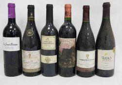 One bottle Rijk's Private Celler Shiraz 2000, one bottle Boschendal Lanoy Cabernet Sauvignon