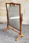 20th century dressing table swing mirror