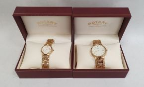 Gentleman's and lady's Rotary wristwatches(both with their fitted boxes) (2)