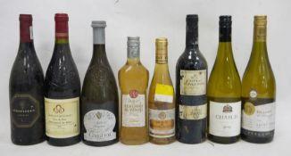 One bottle Ifrati Lugana 2001, one bottle Chablis 2014, one bottle Castillo De Maluenda Old Vines