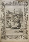 "12 unframed engravings ""Homer's Iliad"", each plate numbered, printed by Thomas Bowles, Fleet"