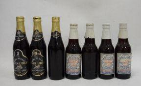 Seven bottles of 1977 Silver Jubilee ale