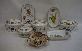 Royal Worcester 'Evesham' pattern ware and other ceramic items
