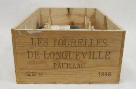 Half case (6 bottles box, top missing)les Tourelles de LonguevillePauillac 1996(6)