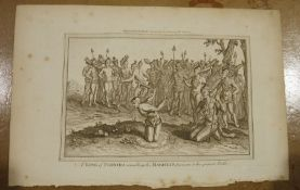 Various unframed engravings for Dr Hurd's Ceremonies and Customs of All Nations and Religious Rights
