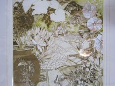 """Peter Lyon (20th century) Limited edition print """"Summer Hunt"""", no.10/50, signed in pencil lower"""