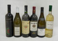 2001 Reserva Terra Grande Almansa, 2005 Domaine de Saint Romble Sancerre appellation sancerre