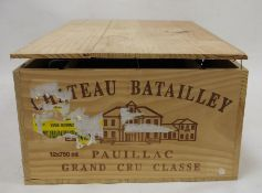 One box (12 bottles) Chateau Batailley Grand Cru, 2005, Pauillac