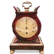 Dwerrihouse Ogston and Bell William IV mantel clockwith baton numerals, the dial marked