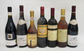 One bottle La Croix de Beaucaillou Saint-Julien 1999, one bottle Peter Lehmann Barossa Valley