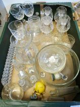 Assorted china and glassware (4 boxes)