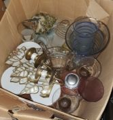 J & G Meakin coffee set, a Copelands tea service together with various china and glassware(4
