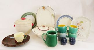 Vintage glass lemonade set together with various china and glasswares(4 boxes)