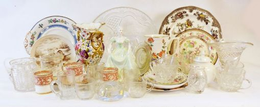 Eschenbach part-dinner / tea service together with various china and glasswares and prints