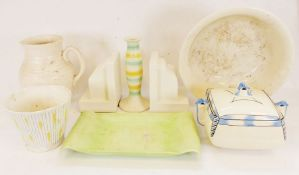 Arthur Wood jug, a Poole pottery teapot together with various china and ceramics (5 boxes)