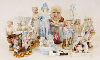 Collection of cups and saucers to include Nymphenburg, Royal Doulton, Shelley etc. together with