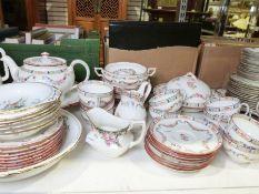 Minton's part-dinner / tea service, a Susie Cooper part-tea service and a Tuscan part-tea service