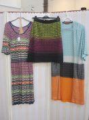 Missoni M dress, a Missoni M wool skirt and a Missoni full-length evening jacket(3)