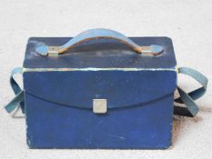 An antique Eastman 1901 Brownie camera in its original case. H.12 W.19 D.10cm