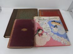 Four antique books including Ermyntrude and Esmerelda by Lytton Strachey. The Water Babies, A