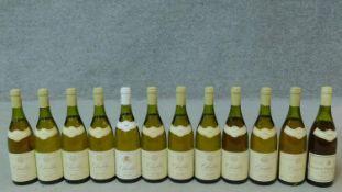 Eleven bottles of 1991 Chablis, Daniel Dampt and a bottle of 1988 Jean DeFaix (12)